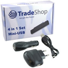 4in1 Ladegerät Ladekabel Kfz Set  für Mitac Mio Moov M-300 M-305 M-405 M-610