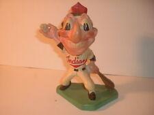 1947 Cleveland Indians Chief Wahoo Mascot Mazzolini Artcraft Chalk Statue #3