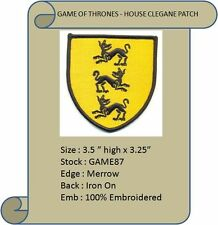 HOUSE OF CLEGANE PATCH - GAME87