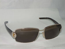 TRUSSARDI EYES WOMEN'S SUNGLASSES! GOLD WITH TORTOISE SHELL ARMS! TE20891 ITALY!