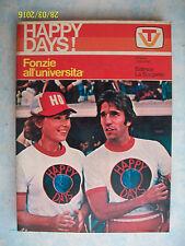 HAPPY DAYS = FONZIE ALL'UNIVERSITA' = 1° ED. 1978 = ED. LA SORGENTE = PAG. 160