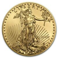 WOW~ 2020 - $5 GOLD - AMERICAN EAGLE - GEM COIN - (1/10th OZ) - CAPSULE- $274.88