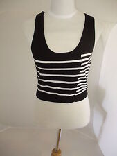 Striped Cotton Tank Tops for Women