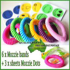 Anti toxic Mosquito Insect Repellent Wrist Band Bracelet Bug Camping Outdoor pac