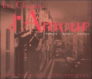 Les Chemins d'Amour : Pasiecznik, Poblocka (CD, Jan-2003, CD Accord)