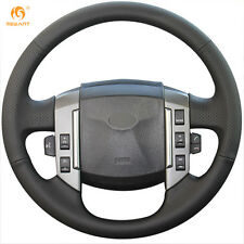 Artificia Leather Steering Wheel Cover Wrap for Land Rover Discovery 3 2004-2009