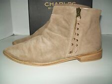 Charles by Charles David Brody Leather Western Bootie - women's size 9M -NIB