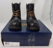 Polo Ralph Lauren Willingcott Boots Black 8 D $169.00