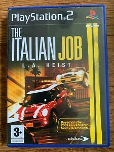 Italian Job LA Heist PS2 Game Based Mini Cooper Movie for Sony Playstation 2