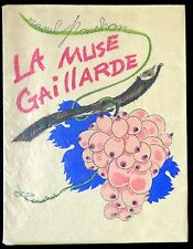 La Muse Gaillarde - Raoul Ponchon -  illustrations J. Touchet