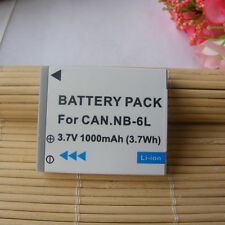 Battery for Canon NB-6L PowerShot SD3500 IS SD4000 IS SX170 SX240 HS