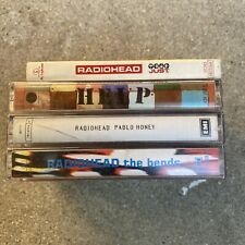 Rare Thailand Radiohead Cassette Lot Of 4 The Bands, Pablo Honey, Just, Help