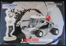 MOON BUGGY & JAMES BOND FIGURE SET Corgi Classics JAMES BOND Collection