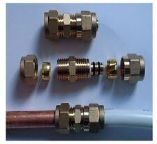 Klemmring Übergangsstück 15mm Kupferrohr auf 16mm Verbundrohr Pex