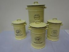 TG Pride Of Place Collection Of 4 Kitchen Storage Receptacles In Cream China