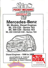 Mercedes Ml Shop Manual Buch ML400 ML270 ML320 Cdi 163 164 Russek
