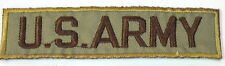 US ARMY MILITARY OLIVE  EMBROIDERED APPLIQUE BADGE MORALE PATCH SEW IRON ON