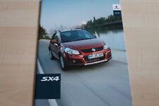 101601) Suzuki SX4 Prospekt 04/2011