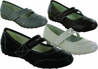 NEW WOMEN' LADIES MARY JANE FLAT CAUSAL  COMFY FORMAL COMFORT SHOES SIZE