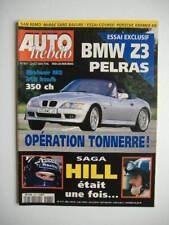 AUTO HEBDO n°1057 BMW Z3 Pelras-PORSCHE 911 Carrera S