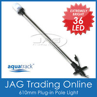 12V 36-LED PLUG-IN POLE LIGHT - Navigation Stern/Anchor/Boat/Yacht/Nav/Marine TL
