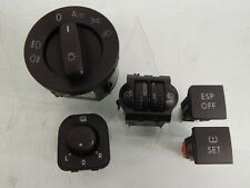 VW Golf 5V 5x Interruptor Interior Kit 135161