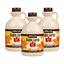 Canadian Maple Syrup KIRKLAND Signature 100% Pure Grade A Amber Maple Syrup UK