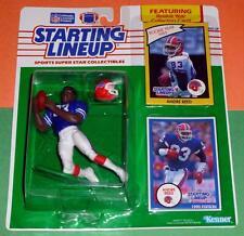 1990 ANDRE REED Buffalo Bills #83 -FREE s/h- Starting Lineup +bonus 1985 card NM
