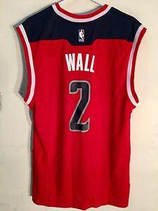 Adidas NBA Jersey Washington Wizards John Wall Red sz L