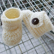 0-6 month baby crochet booties colour you choose.