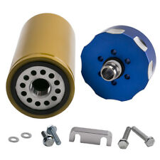 For Chevy GM Duramax Chevrolet 6.6L Fuel Filter Adapter Kit Blue New 2002-2016