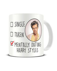 Harry Styles Mug Mentally Dating Coffee Cup Gift for Her Birthday Christmas Gift