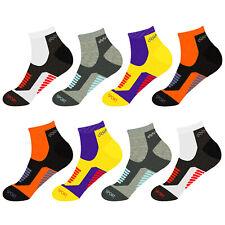 12 Paar Sneaker Socken Sport Freizeit Damen Herren Socken Baumwolle Kurz 39-46