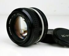 [ NM ] Nikon Nikkor Ai 50mm f/1.4 Vintage Lens F Mount Japan Import