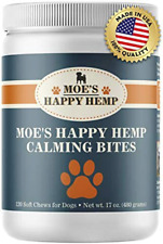 New listing Organic Calm Hemp Treats for Dogs: Anxiety Relief and Calming Aid (120c)