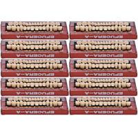 280ps Acrylic Resin Denture 23# A2 Dental Full Set Teeth Upper Lower Shade Tooth