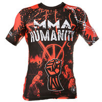 de neopreno Camiseta lycra MMA HUMANIDAD Ideal Para Bomberos, MMA Trainning,