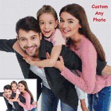 Custom DIY 5d Diamond Painting Full Drill UK Kits Family Photo Portrait Gifts