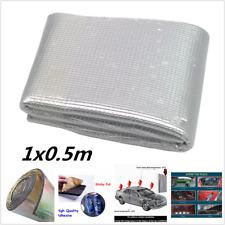 Car SUV Heat Shield Sound Deadener Insulation Deadening Mat Aluminum foil 1x0.5M