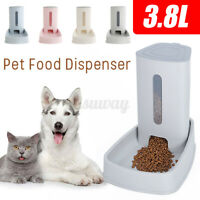 3.8L Automatic Pet Drinking Fountains Mute Cat Dog Water Dispenser Feeder Bottle