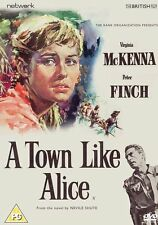 A TOWN LIKE ALICE Virginia McKenna Peter Finch DVD in Inglese NEW .cp