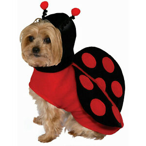 Lady Bug Ladybug Pet Dog Cat Costume Size XS
