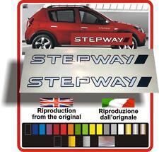 1x 2x  Adesivi Sticker Autocollant Pegatinas Aufkleber Stepway Duster  Sandero