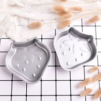 2X Crafting Metal Bath Bomb Mold Cake Fizzy Strawberry Shape DIY Metal Molds GJB