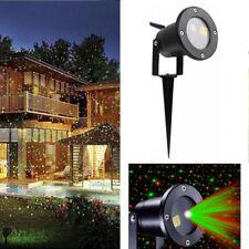 Proiettore luci di natale per esterno magia di stelle led laser con telecomando
