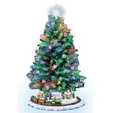 Holiday Sparkle Christmas Tree Bradford Exchange - Thomas Kinkade