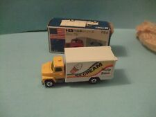 FORD PANEL VAN TRUCK ICE CREAM Milky white scale 1/95 by TOMY TOMICA F64