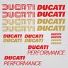 Ducati Performance adesivo sticker 18x moto carro armato casco sport da corsa