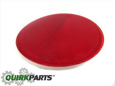 08-10 Saturn Vue Rear Left Hand Driver's Side Bumper Reflector Trim Red OEM NEW