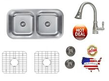 Kitchen Faucet and Sink Set